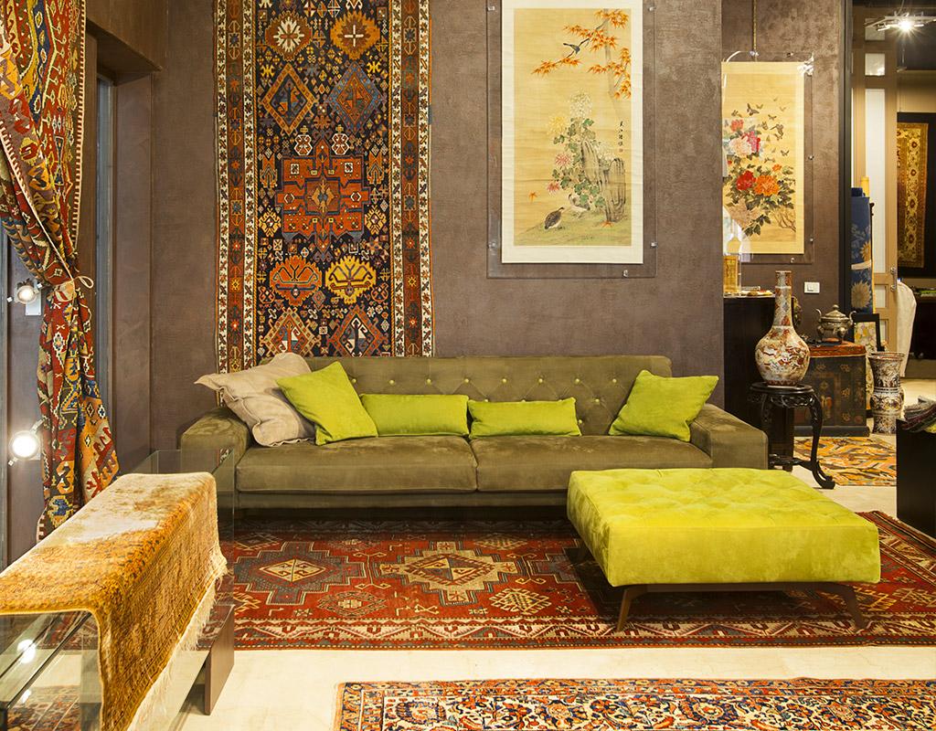 Negozio tappeti persiani