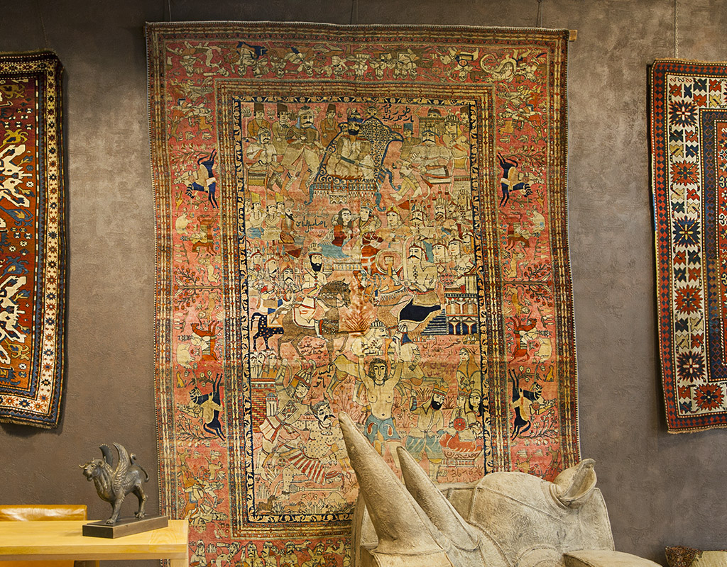 Vendita tappeti antichi