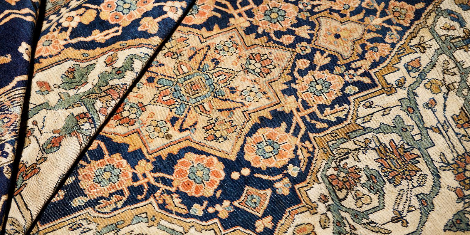 restauro tappeti persiani