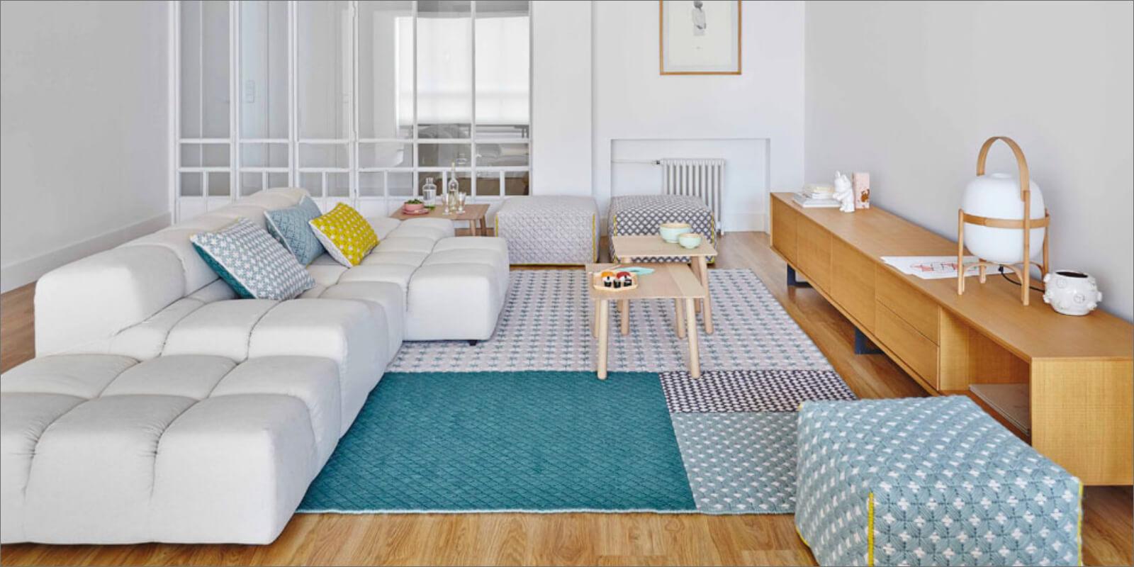 Tappeto moderno living room