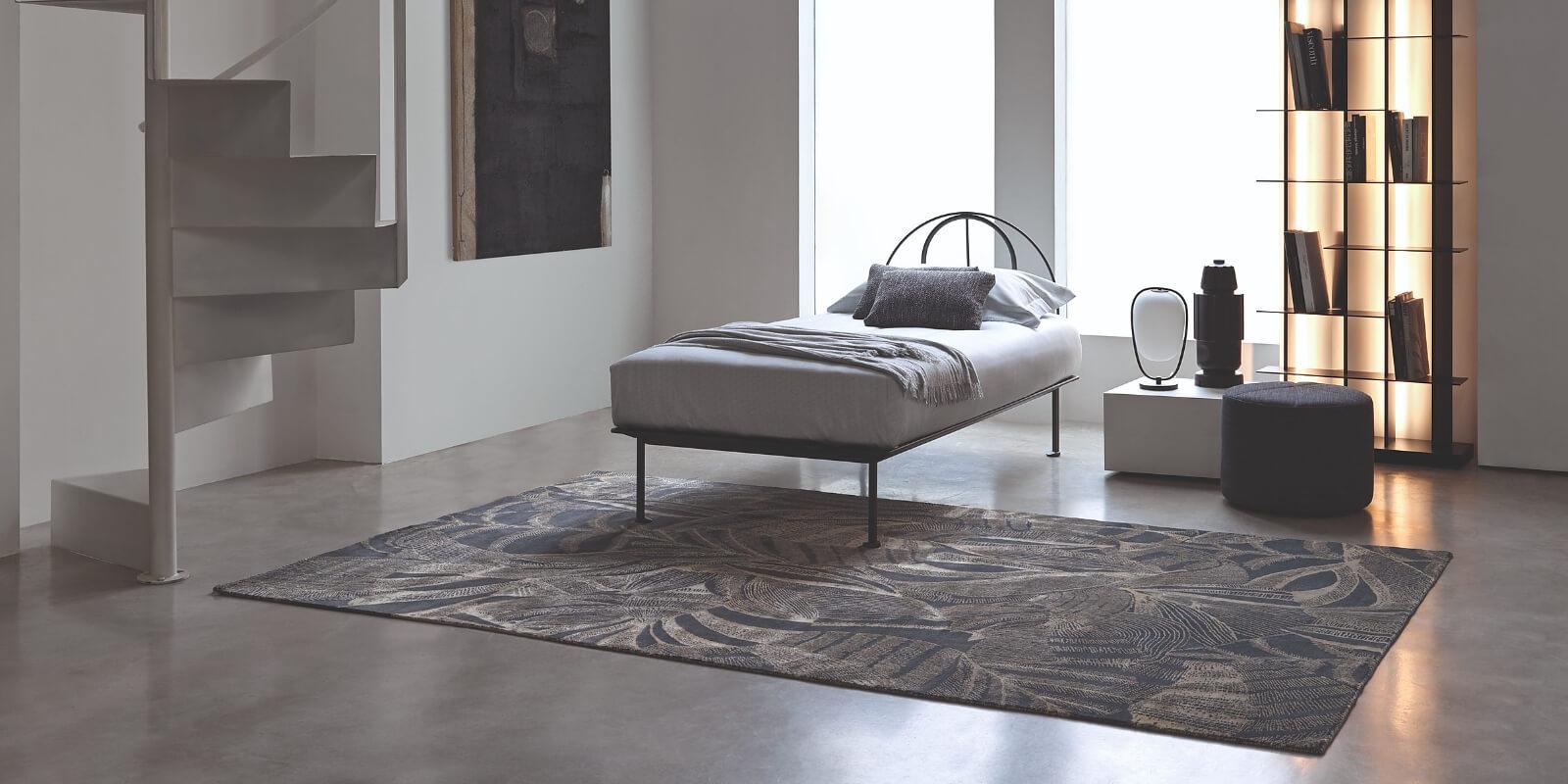 tappeto moderno a fiori