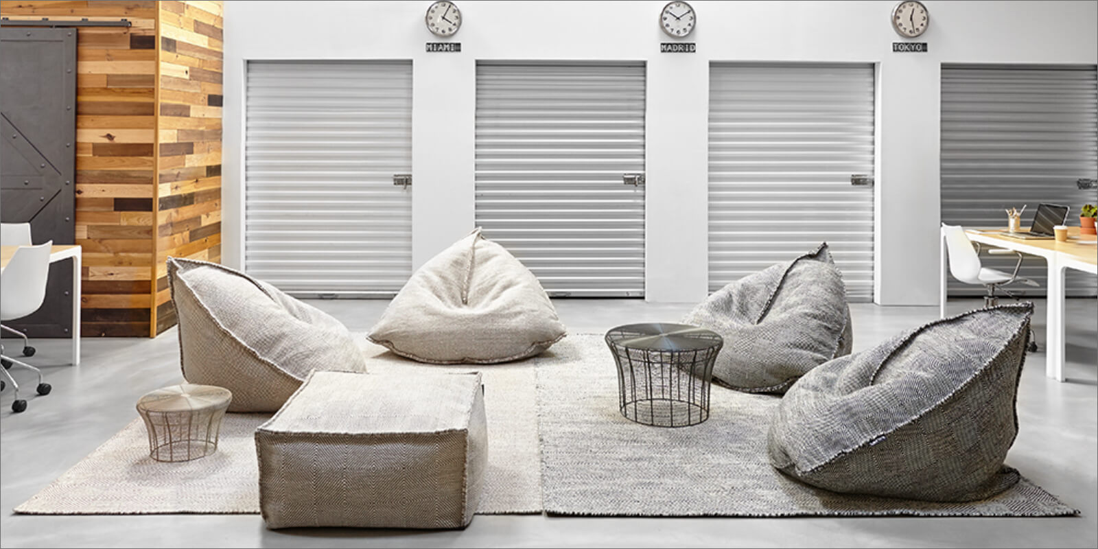Tappeti moderni grigio chiaro