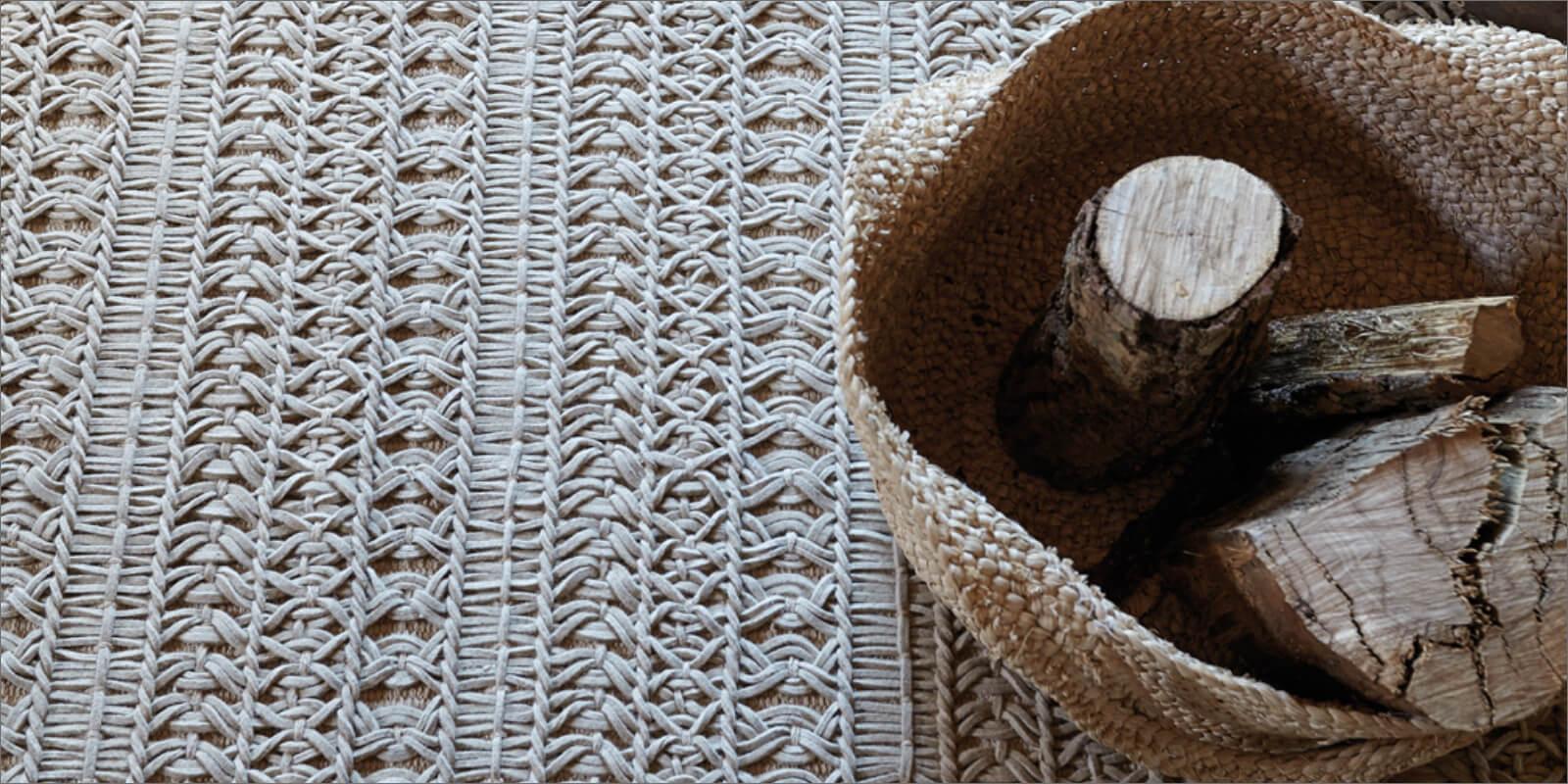 Dettaglio tappeto moderno